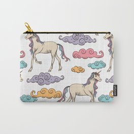 Unicorn clouds Carry-All Pouch