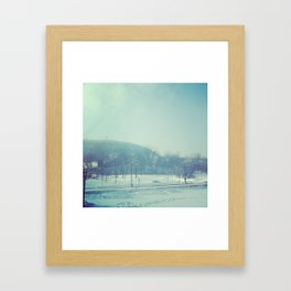 Cold mountain in MTL Framed Art Print