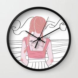 take me somewhere Wall Clock