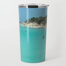 Swimming in the West Indies Travel Mug