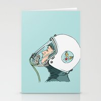 pilot Stationery Cards featuring Pilot by Jason Ratliff