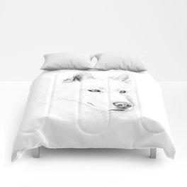 Saber :: A Siberian Husky Comforters