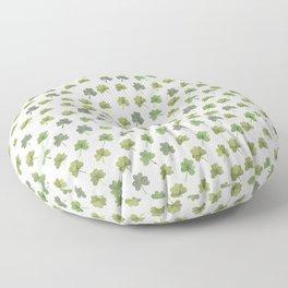 Four Leaf Clover Finder Floor Pillow