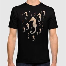 GOLD SEAHORSE T-shirt