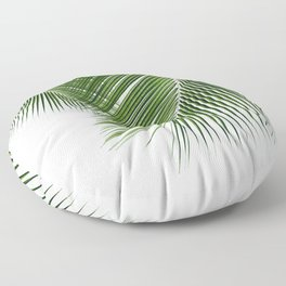 Delicate palms Floor Pillow