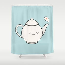Time For Tea Shower Curtain