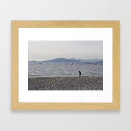 Kits Beach 1 Framed Art Print