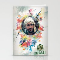 islam Stationery Cards featuring The 44th : Saif Al-Islam Gaddafi by Galerija