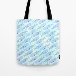 Whale Pattern Tote Bag