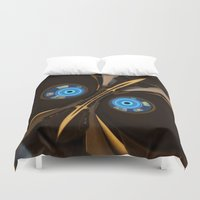 skyrim Duvet Covers featuring centurion by Patrick.the.human