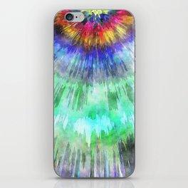 Textured Tie Dye Starburst iPhone Skin