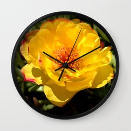 Flower GG Wall Clock