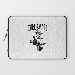 Checkmate Punch Funny Boxing Chess Laptop Sleeve