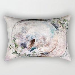 Strawberry Moon Rectangular Pillow