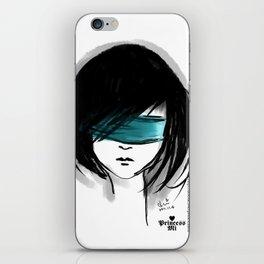 close my eyes iPhone Skin