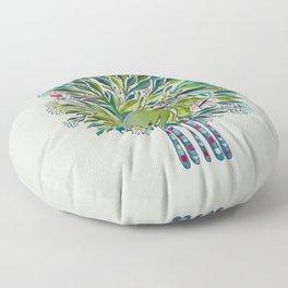 Poofy Asparagus Floor Pillow