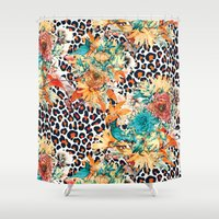 into the wild Shower Curtains featuring Wild by RIZA PEKER