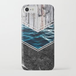 Striped Materials of Nature IV iPhone Case