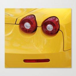 Smile Farrari Canvas Print