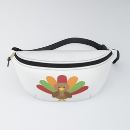 Cute Thanksgiving turkey Fanny Pack