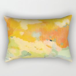 abstract spring sun Rectangular Pillow
