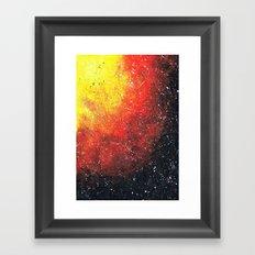 solar storm Framed Art Print