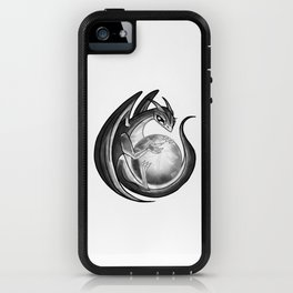 Scrying Dragon iPhone Case