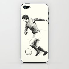 Football/Soccer - George Best iPhone & iPod Skin