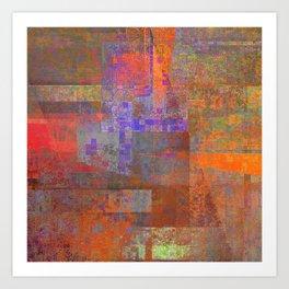 rising concern. 1a. 1. 4 Art Print