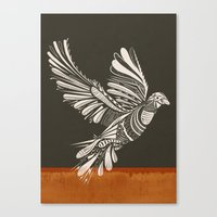 peace Canvas Prints featuring PEACE by Mathis Rekowski