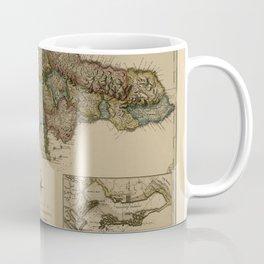 Map Of Jamaica 1775 Coffee Mug