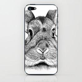 Bunny Face iPhone Skin