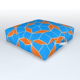 Penrose Tiling Pattern Outdoor Floor Cushion