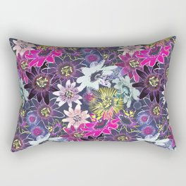Passion Flower Bright Rectangular Pillow