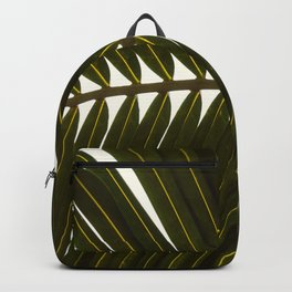 Cancun Palm Leaf Backpack