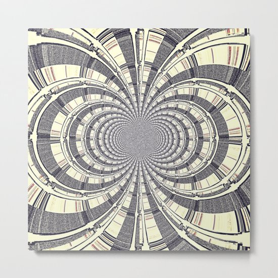 KALEIDOSCOPIQUE Metal Print