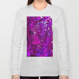 The Many Mysteries of Purple Long Sleeve T-shirt