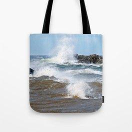 Surf's Spray Tote Bag