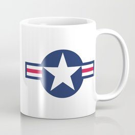 US Air-force plane roundel HQ image Coffee Mug