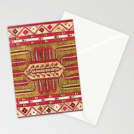 Kirsehir Central Anatolian Rug Print Stationery Cards