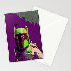 Boba Goes Pop Art Stationery Cards