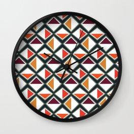 Warm Asymmetry Wall Clock