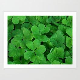 Luck of the Irish Art Print