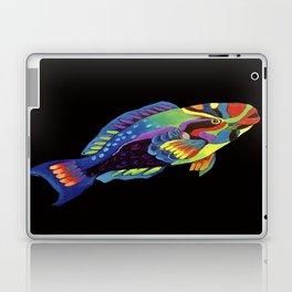 Rainbow parrot fish -2 Laptop & iPad Skin