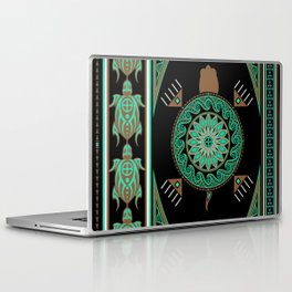 Green Turtle Laptop & iPad Skin
