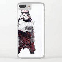 Stormpooper Clear iPhone Case