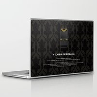 scandal Laptop & iPad Skins featuring A Scandal in Belgravia by MacGuffin Designs