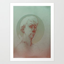 Paranoid Schizophrenia Art Print
