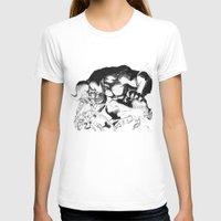 berserk T-shirts featuring Guts & Griffith vs Zodd by Vortha
