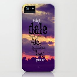 Dale iPhone Case